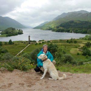 Miriam und Lino in Schottland