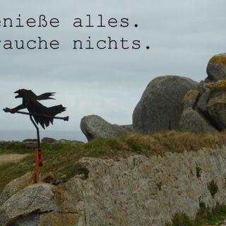 Hexe in der Bretagne
