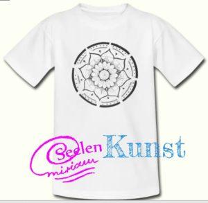 Mandala auf T-Shirt