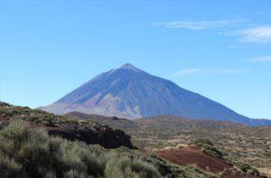 Teneriffas höchster Berg, der Teide