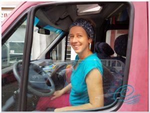 """alt=""""Miriam.Seelenreisende im Bus"""""""