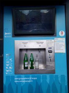 Trinkwasserautomat in Rimini