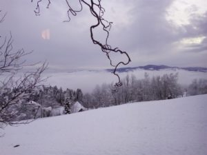 Schnee in der Steiermark