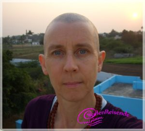 Glatze als Frau in Indien