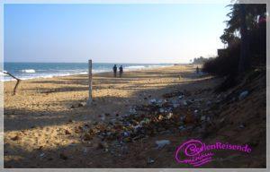 Der Strand von Pondicherry