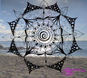 Mandala und Meer